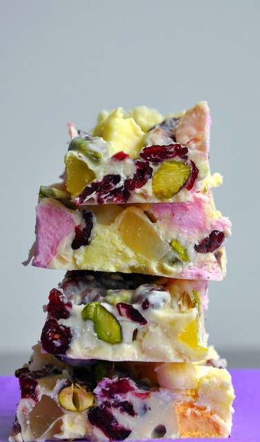 bakeddd:  white chocolate rocky road click here for recipe