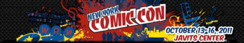 New York Comic-Con 2011 logo.