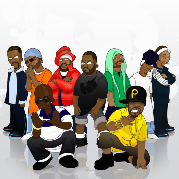 gkusoul:  Wu-Tang Simpsonized……….
