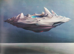 illillill:  Yves Tanguy Painting by Fe'lix Labisse  I want to go to there