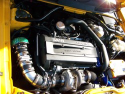 SAAB 9-3 Viggen heavily tuned engine