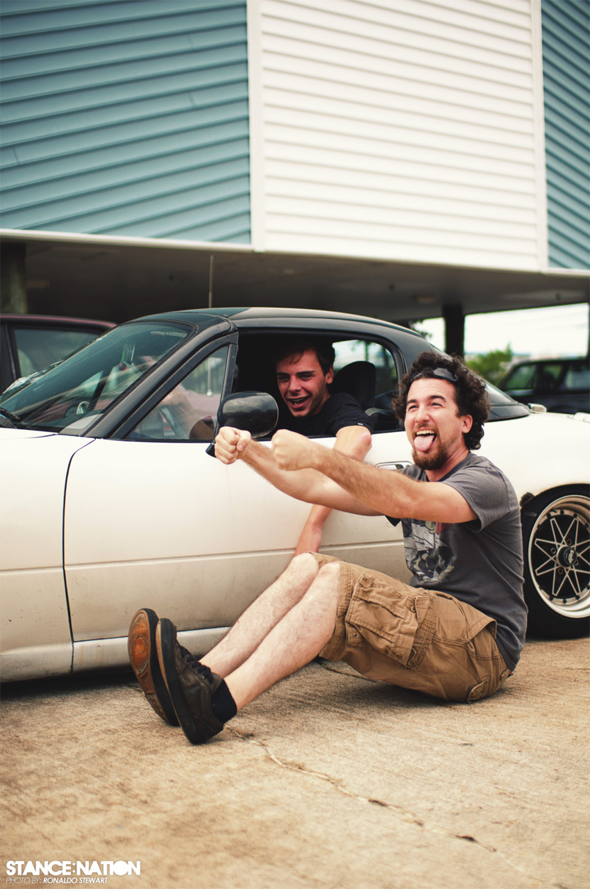 stancenation:  This is how we roll, literally.