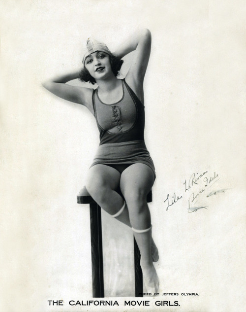 Lila La Rivera by Jeffers Olympia 1920's
