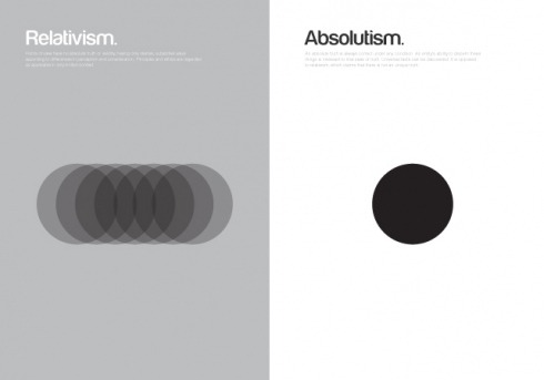 (via Philosophy posters « Design Soufflé)