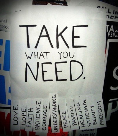 "marinigh:  ""take what you need"" withlovexo"