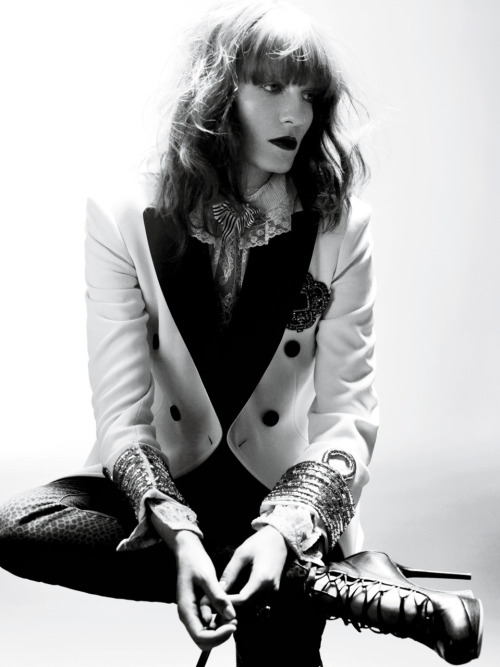 Florence Welch for Interview Magazine