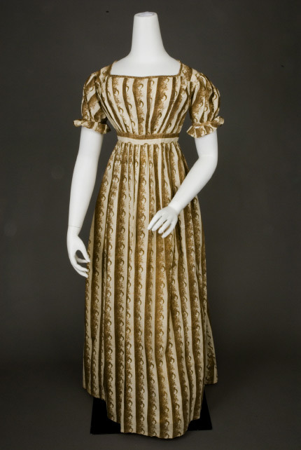Day dress, ca 1815