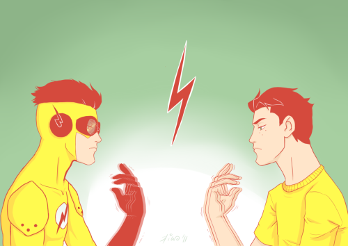 kiwakostalova:  Wally West a.k.a. Kid Flash from Young Justice