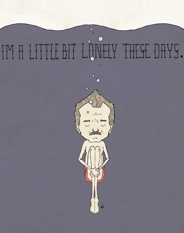 "wetbehindthears:  ""I'm A Little Bit Lonely These Days."" by Derek Eads."