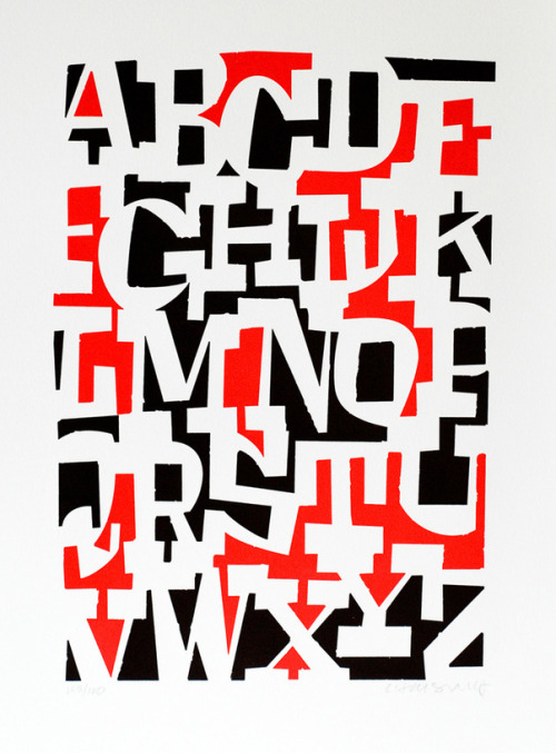 #typography c86:  Cyrus Highsmith - ABCDEFGHIJKLMNOPQRSTUVWXYZ Available from Tiny Showcase