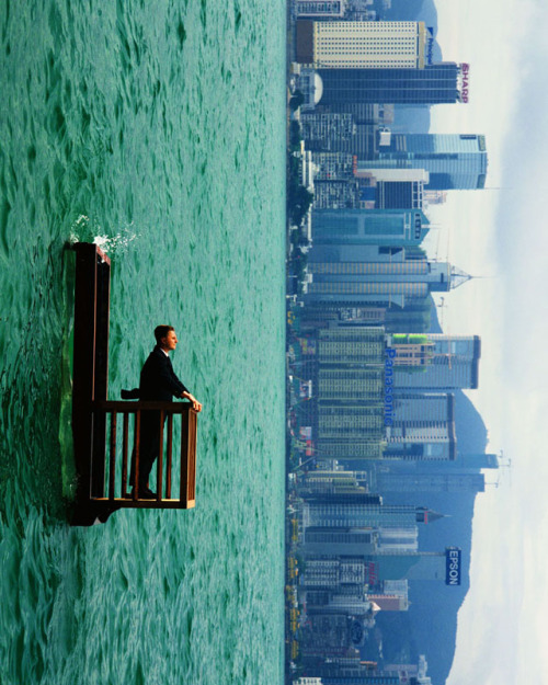 great surrealist photography. love the color and the simplicity and beauty.
