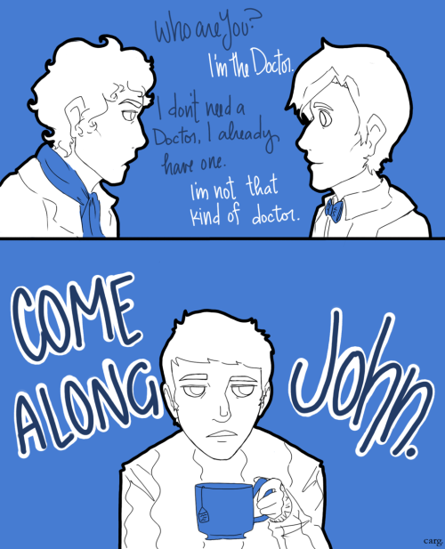 A Doctor Who/ Sherlock mashup thing for bowtiesandtimetravel