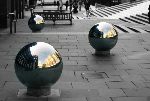 mirror balls in london…