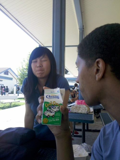 grigorie:  tiffanywillneverfindthis:  Chinky  My milk is fucking serious business  CENTER MOTHER FUCKING HIGH SCHOOL!!! i miss that shit hole