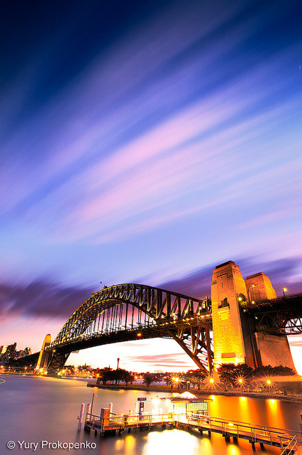 Sydney Harbour Bridge by -yury- on Flickr.