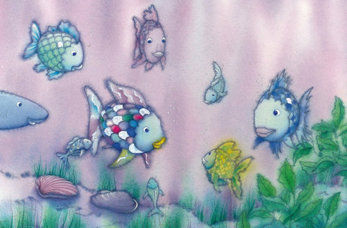 #Rainbow Fish has that colorful SWAGGG!