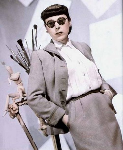 theniftyfifties:  Hollywood costume designer, Edith Head.
