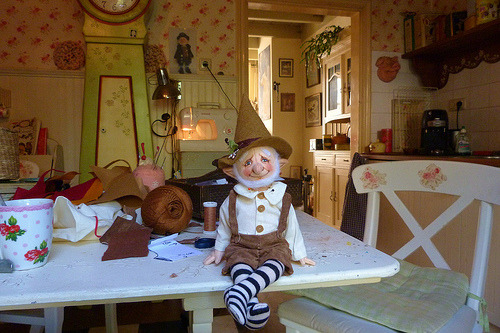 leafylady:  Always love Helen Priem's work - Little Gnome Mannequin… . . (by helenpriem)