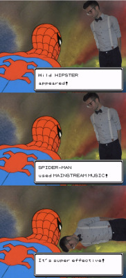 fuckyespiderman:  Yep. I went there.