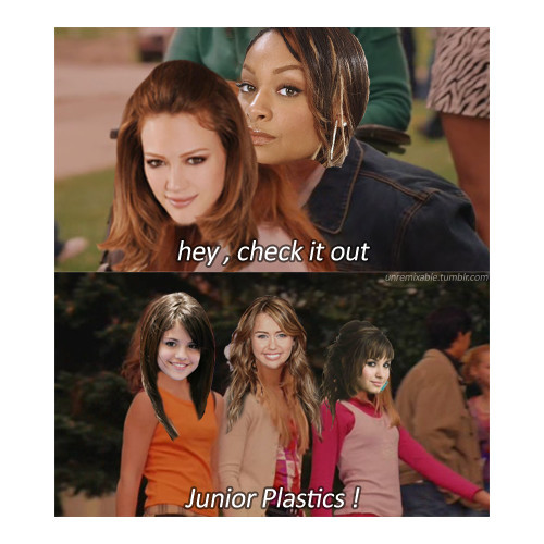 LOL, still, I love all five of them… But I love Hilary and Raven more… :D