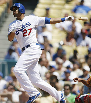 2011 Dodgers - Matt Kemp, thank you