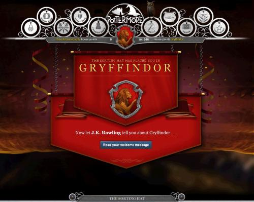 Huh… Always thought I'd be in Ravenclaw. o.o