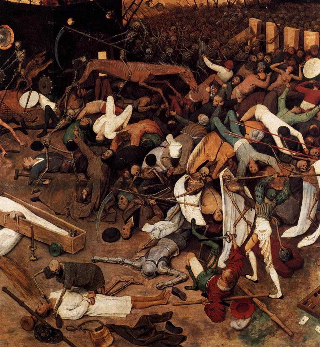 Pieter Breugel the Elder, The Triumph of Death (detail)