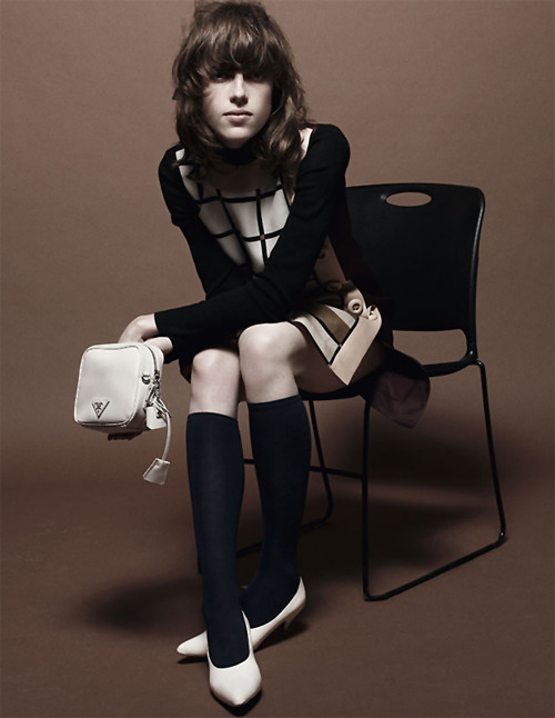 Anais Pouliot androgynous Sunday school girl