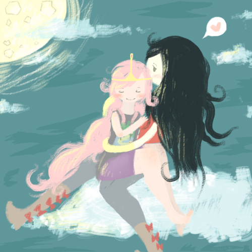 thelegendofsin:  Yes Bubbline ( or Bubbleline…whatever) I have fallen for you. Having a really really really bad night and I have to admit this was a bit inspired by Ratfeet's Fan-Fic. Enjoy my messy love-doodle of the cutest couple ever.  I am all about this couple right now, more than before.