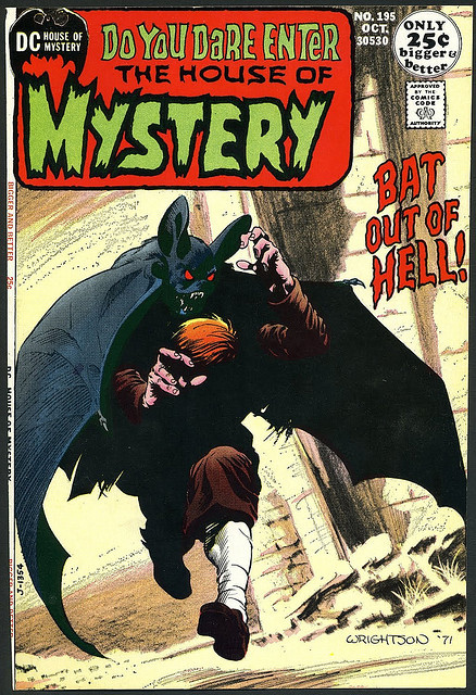 House Of Mystery #195 (1971)  Swamp Thing prototype story by Bernie Wrightson.