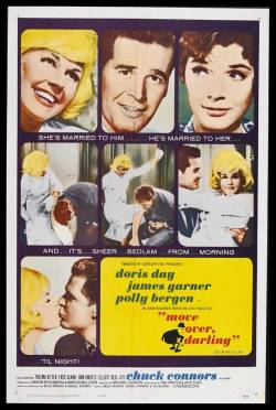 Movies I've Seen in 2011 271.  Move Over, Darling (1963) Starring:  James Garner, Doris Day, Polly Bergen Director:  Michael Gordon Rating:  ★★★★/5