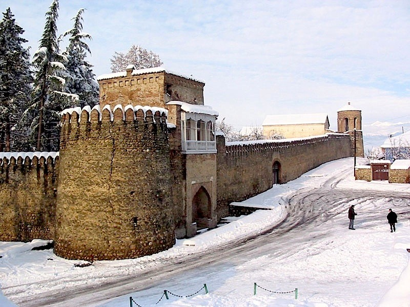 | ♕ |  Winter fortress - Telavi, Georgia  | by © tlg.gov.ge | via ysvoice