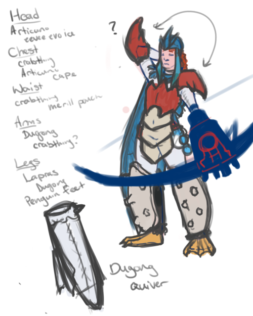 fuckyeahbarracuda:  PokeMonster Hunter armor. My first draft one of these armor things. I used ice/water type pokemon. :D  DUDE dat's sweet. I need to re-do mine :>