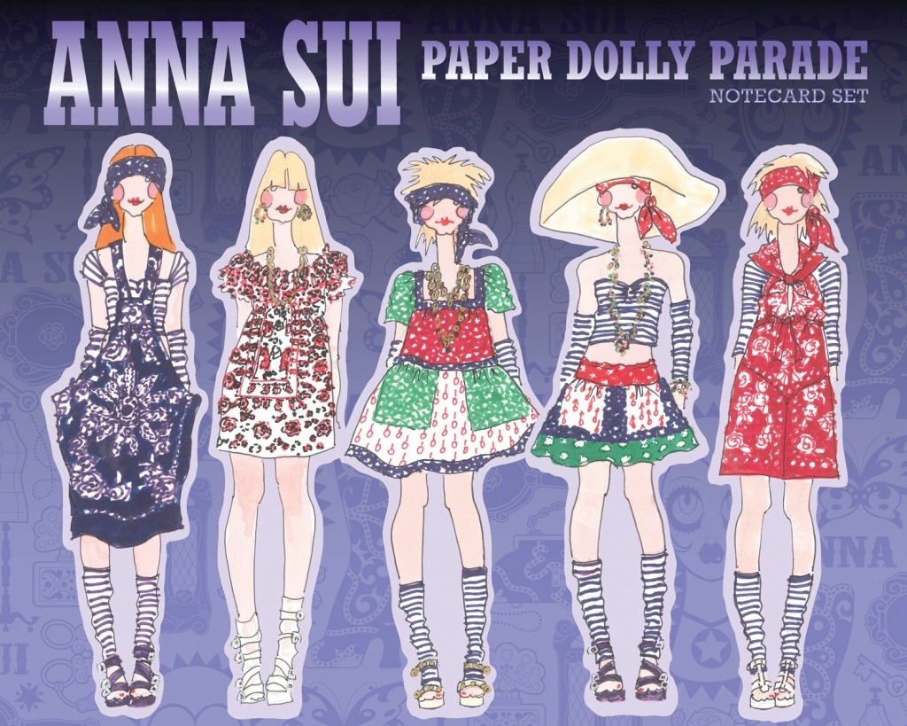 Anna Sui Dolly Parade Cards | Chronicle Books I've been in love with Anna Sui ever since I realised there was fashion other than Target! In fact, my very first perfume was Sui Dreams by Anna Sui, and I still love it. And I also love stationery so this is like the perfect combination! Plus folks out there have taken the cards and come up with different crafts that you can make with them. You would have to be a real favourite of mine to get one of these cards! They're $14.95 for fifteen cards from Chronicle Books.