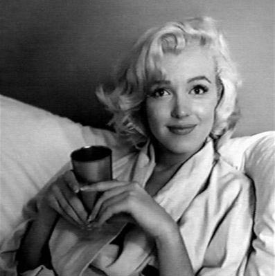 #Marilynettes ~ You expect me to get out of bed this early without a decent cup of coffee? You must be joking!