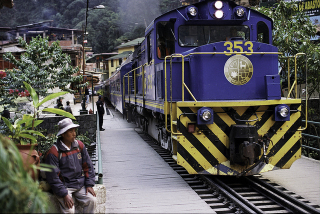 Analog Peru: PeruRail in Aguas Calientes