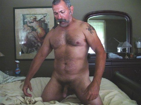 hotoldermenonline:  Cigar, stache, cock… OMG, this man is really HOT!