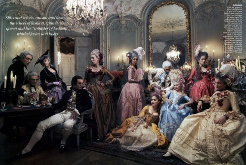 forest99:  Kirsten Dunst as Marie Antoinette by Annie Leibovitz for Vogue