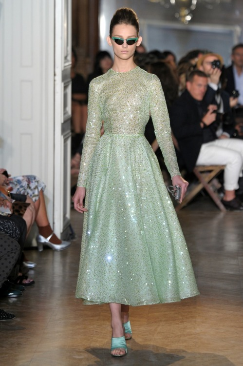 glamour:  My fashion fairy godmother? Rochas, Spring 2012. Photo: Fairchild Archive