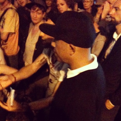 @UncleRUSH Simmons enters #occupywallstreet
