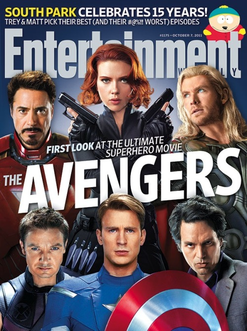 Please tell me the usual graphics guy at EW was on vacation or had the flu or needs new glasses. Otherwise, how do we explain how silly this Avengers cover looks? Particularly Mark Ruffalo. -A