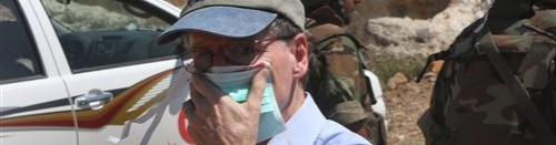 U.S. ambassador to Syria pelted with tomatoes, stones in protest: You might remember the assault against U.S. Ambassador Robert Ford, who's been critical of Assad's regime, from about a month ago. That one didn't involve stones and tomatoes. This one did. source Follow ShortFormBlog