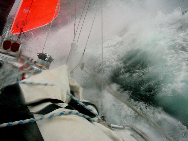 yachtingblog:  My last gale shot – I promise by Today is a good day on Flickr.