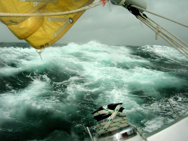 "yachtingblog:  ""Another day, another gale"" by Today is a good day on Flickr."
