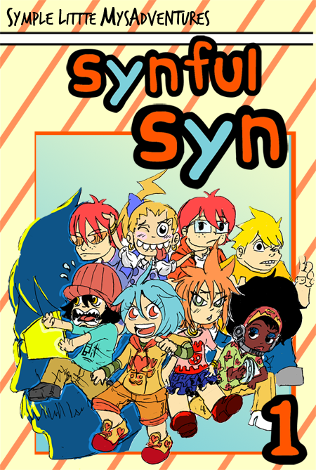 Fake/mock up book cover for my comic, Synful Syn.  I did this because there is this Dreams Contest on another site and didn't have many participants.  With that, I decided to contribute something.  My dream is a publish a comic book.  Well… that's just one of my many dreams. Just one.