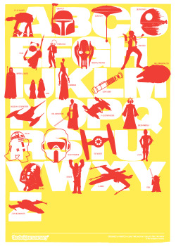 Star Wars Print (Yellow-Red)