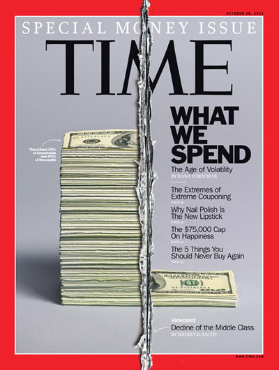 My first cover art for Time magazine.