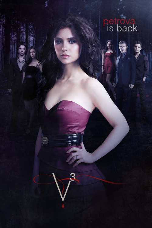 -The Original Petrova - Charlotte Petrova (TVD - Season 3)  I hope we will see her in season 3 :)