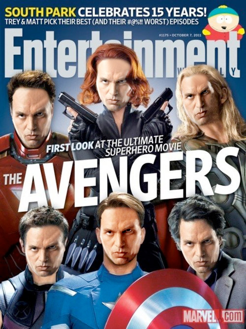 burbanked:  Good thing Entertainment Weekly didn't have to Photoshop this week's cover much. (original via danhacker)