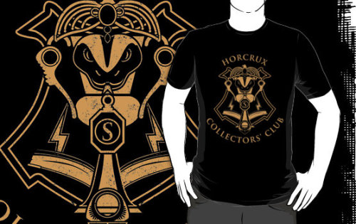 "#HarryPotter ""Horcrux Collectors' Club"" T-Shirts & Hoodies by DeardenDesign http://www.redbubble.com/people/deardendesign/t-shirts/6328168 via @redbubble"